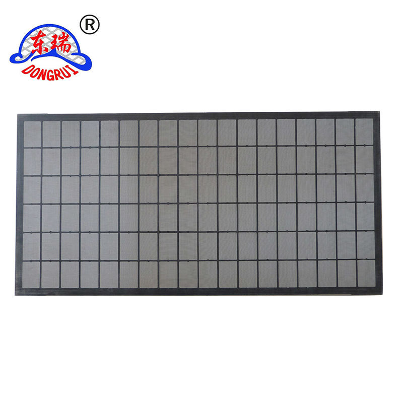 Solid Control Shaker Screen , Oil Vibrating Screen High Strength And Long Life